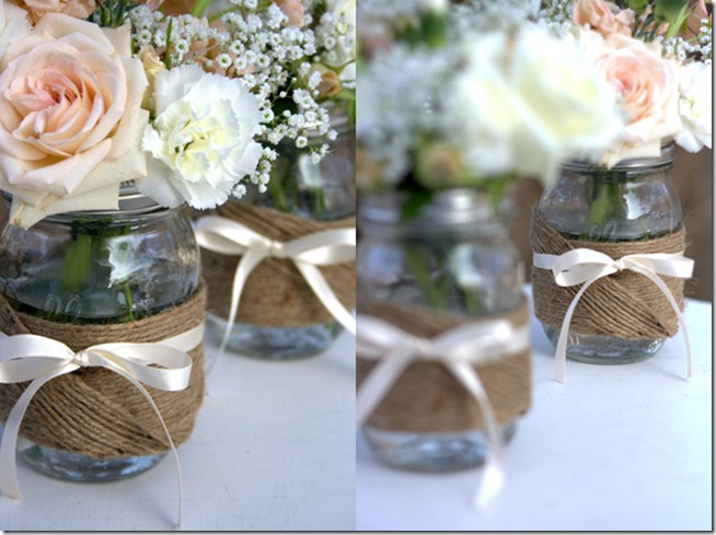 Centerpiece Idea Wedding Mason Jar