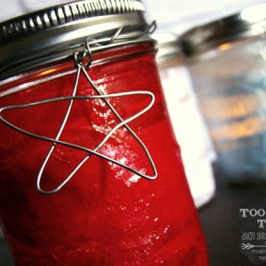 4th of July Mason Jar Craft