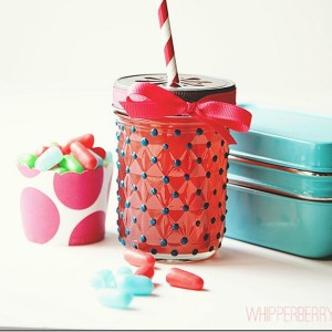 Glass Paint Polka Dots