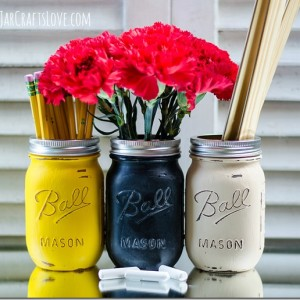 Back to School Mason Jars