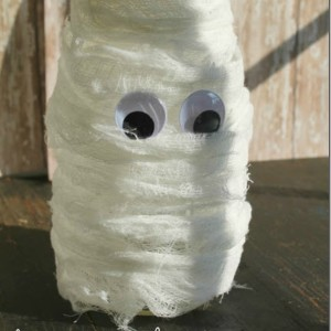 Mummy Mason Jar Craft