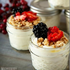Healthy Snacks in Jars