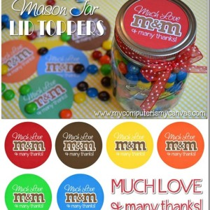 mason jar label printable free