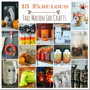 Fall Crafts in Jars Ideas