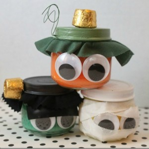 Monster Pudding Jars