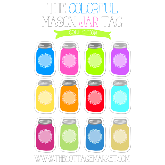 picture about Printable Mason Jar Template identified as Free of charge Mason Jar Printables - Mason Jar Crafts Enjoy