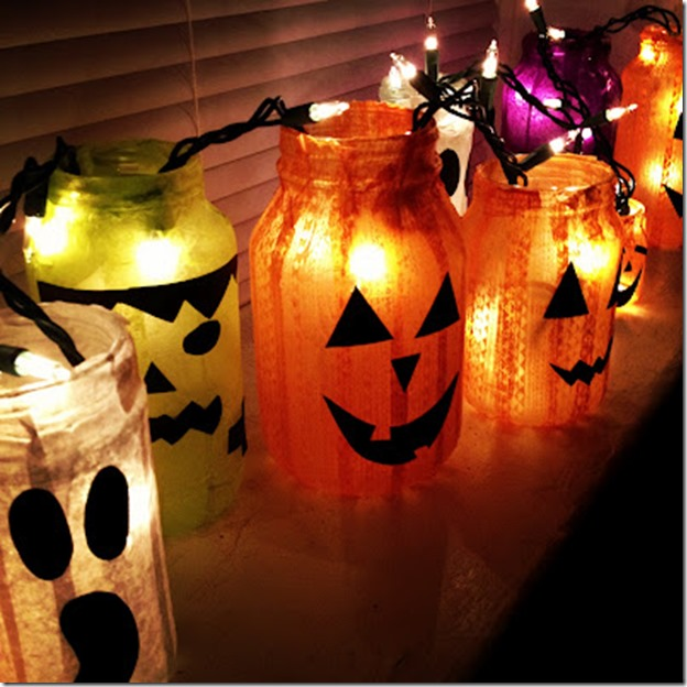 halloween-craft-mason-jar-pumpkin-votives