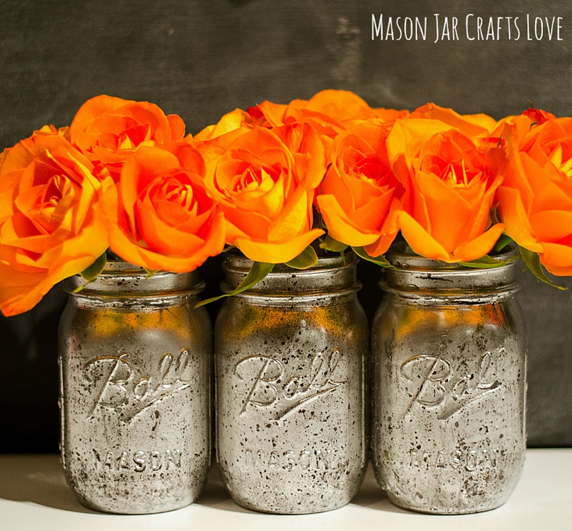 Diy projects with mason jars - Mercury Glass How To Mason Jar Crafts Love