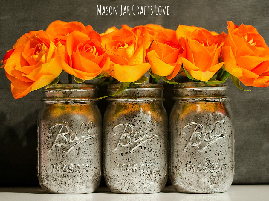 how to make mercury glass mason jars 6 1 - How To Make Mercury Glass