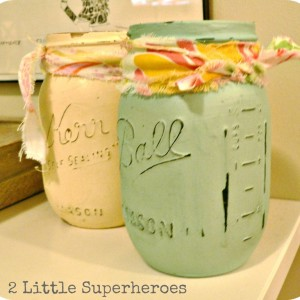 Gift Idea: Painted Jars