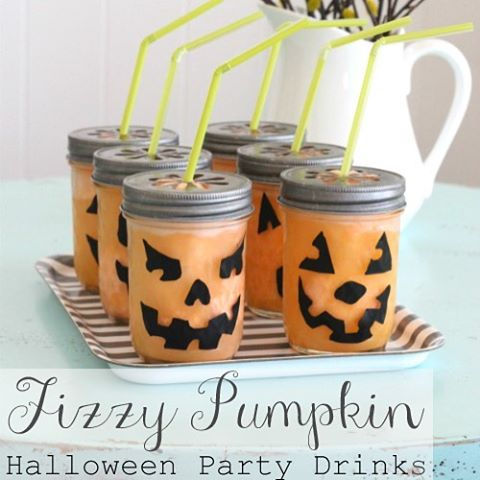 Halloween party drink jnmasonjars halloweenparty from houseofsmiths