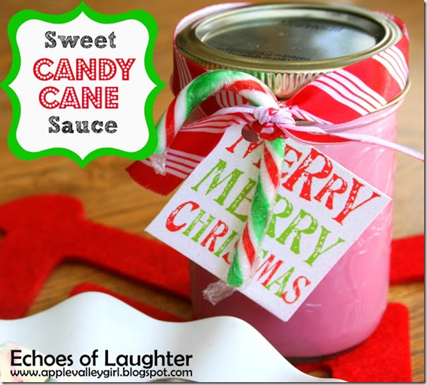 Candy Cane Sauce 2