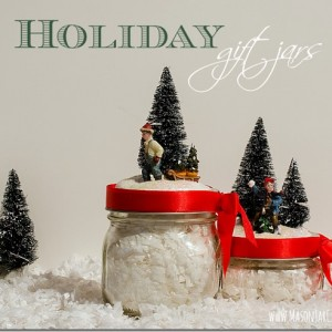 Holiday Decor … with Jars