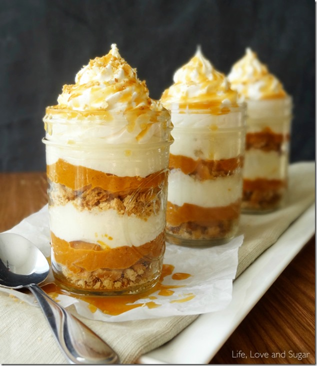 No-Bake-Pumpkin-Pie-In-A-Jar