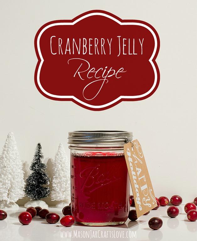 Mason Jar Crafts Love: Cranberry Jelly Recipe