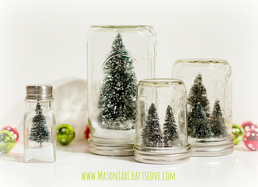 Anthropologie Snow Globes Mason Jar Crafts Love Beauteous Ball Jar Decorations