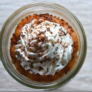 Pumpkin Pie in Jars