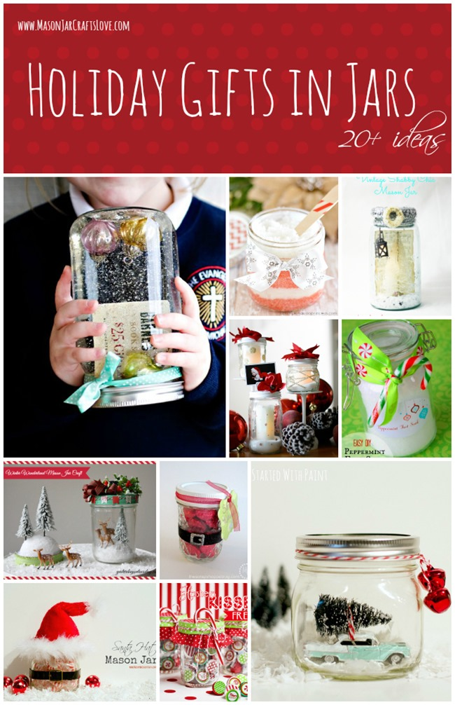 holiday mason jar gift ideas 2013
