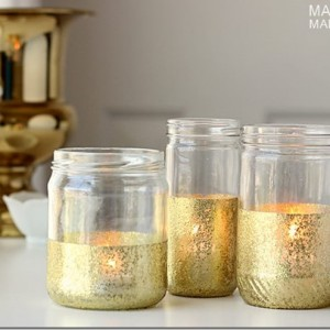 Gold Dipped Jars