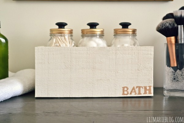 Bathroom Storage Jar Ideas : Bath storage with mason jars jar crafts love