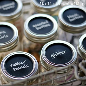 craft-storage-mason-jar-chalkboard-paint
