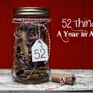 A Year Of Love In A Jar