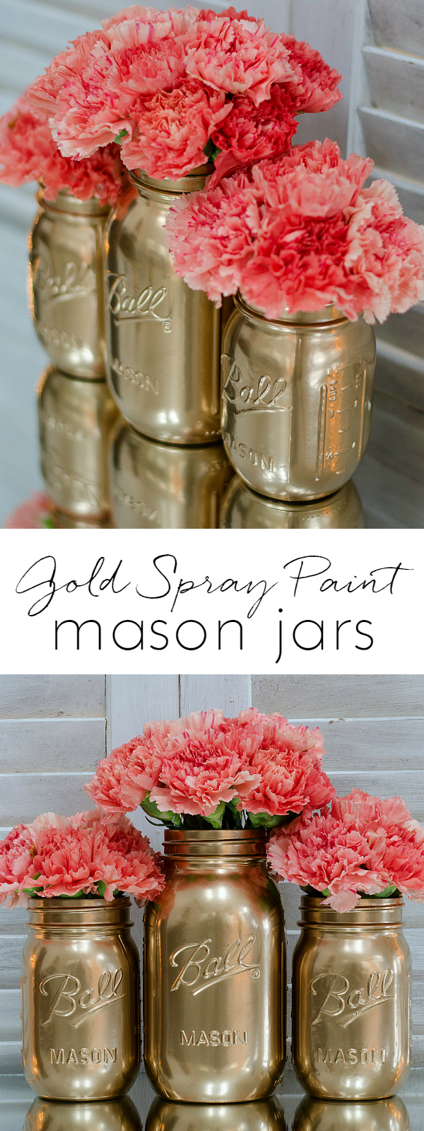 How To Spray Paint Jars Mason Jar Crafts Love