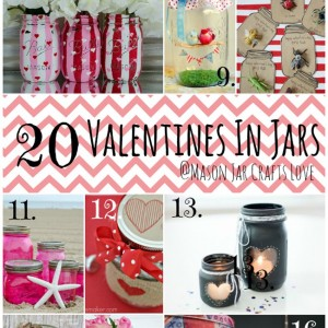 20 Valentines In Jars