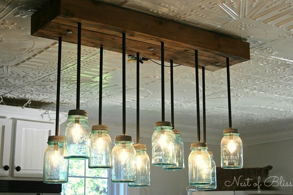 Similiar DIY Mason Jar Chandelier Keywords – Mason Jar Chandelier Diy