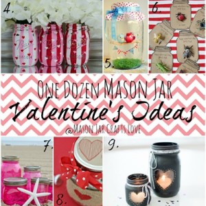 Mason Jar Valentine Ideas
