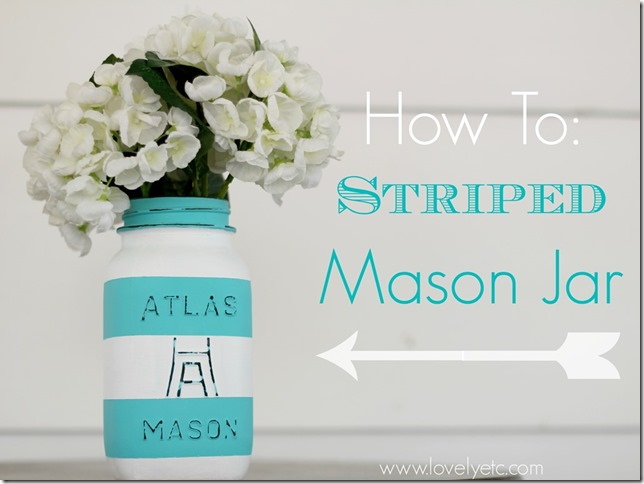how-to-painted-striped-ball-jar