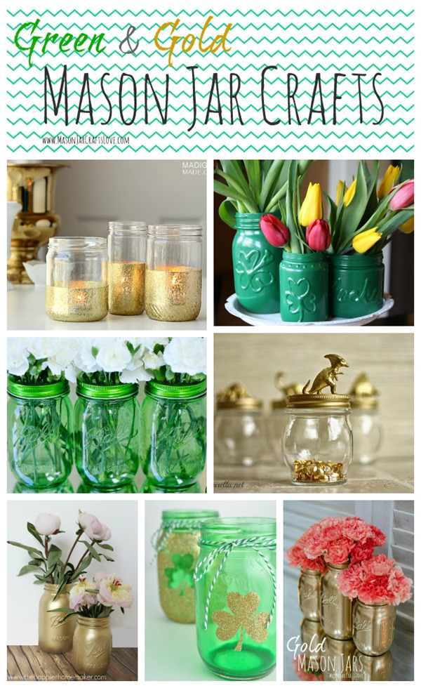 st-patrick-craft-green-gold-mason-jar