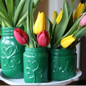 Mason Jar craft Ideas for st Patrick's Day