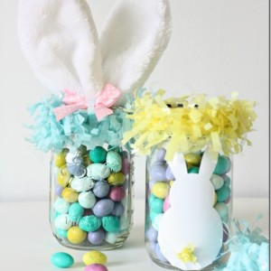 Easter Basket Idea Mason Jar