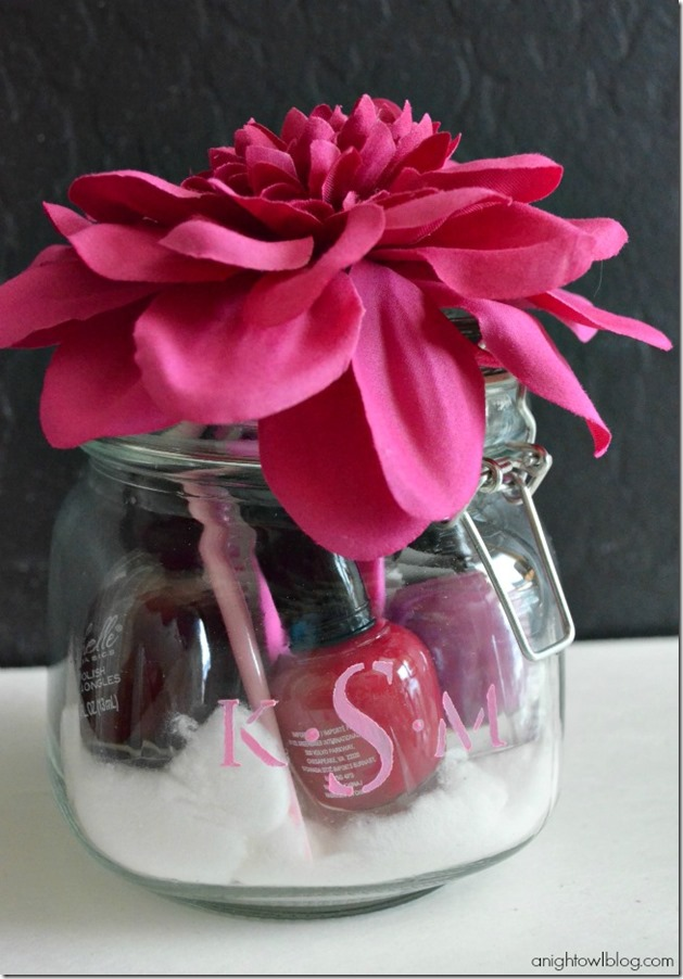 Monogram-Manicure-Jar A Night Owl Blog
