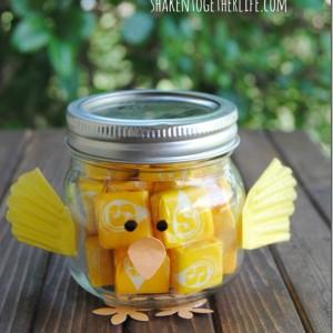Easter Craft Idea with Mason Jars