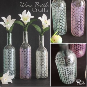 how to stencil glass