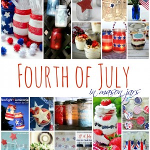 Fourth of July in Mason Jars