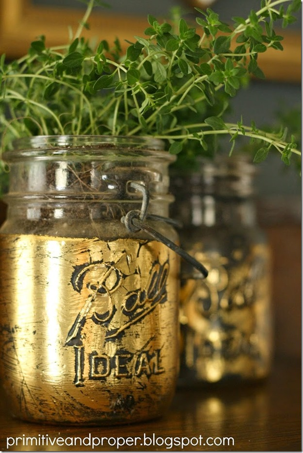 gold-leaf-mason-jar