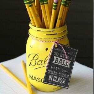 teacher gift idea back to school