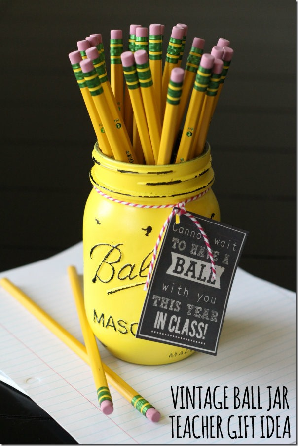 teacher gift idea back to school
