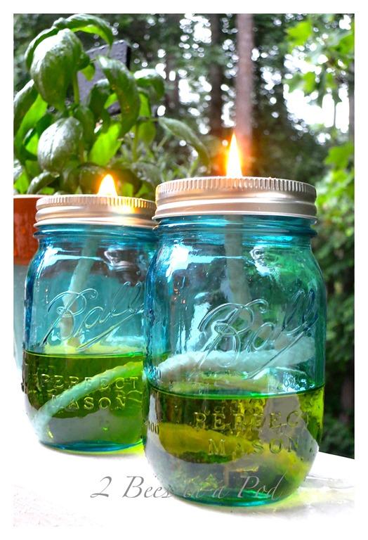 Citronella mason jars mason jar crafts love for Mason jar candle crafts