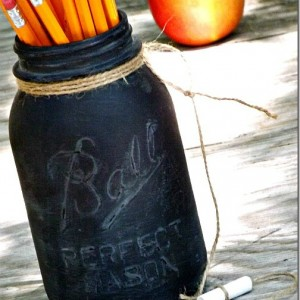 Chalkboard Pencil Holder
