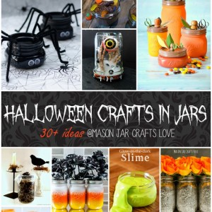 mason jar crafts for halloween