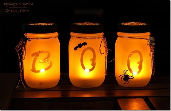 halloween-mason-jar-crafts-boo.Classy Clutter