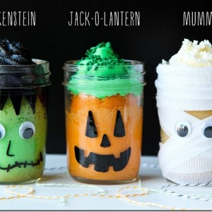 Halloween Treats in Jars