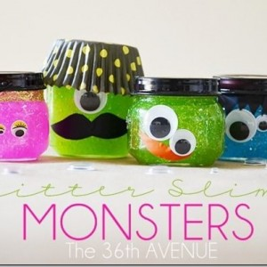 Halloween Monster Jars