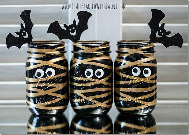 Halloween In Mason Jars Mason Jar Crafts Love