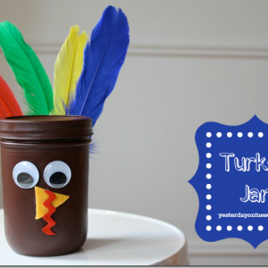 Turkey Mason Jar