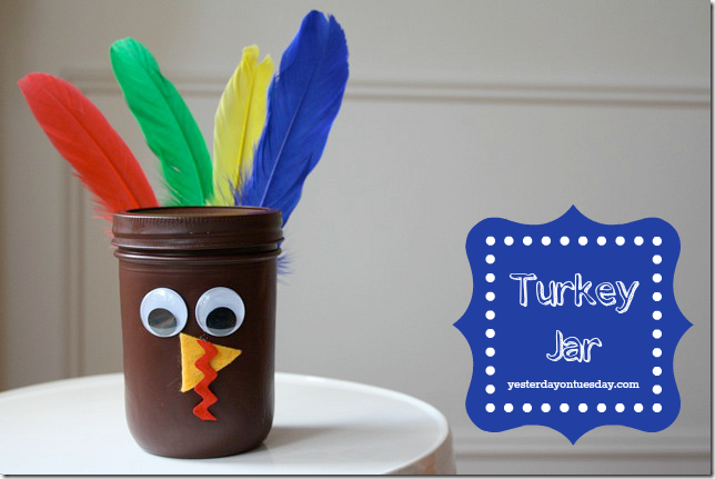Turkey-Jar-Craft Yesterday on Tuesday